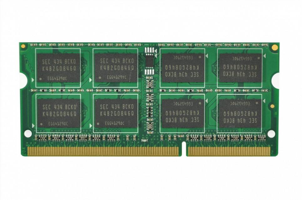 RAM-Speicher 4 GB DDR3 SO-DIMM 1333 Mhz - 2Rx8 für Wortmann Terra Mobile 1509 (1220111)