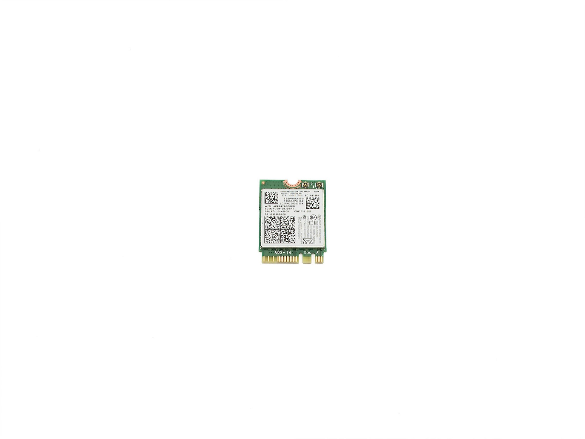 Intel Wireless-N 7260 MAIN für Lenovo ThinkPad T440p Serie