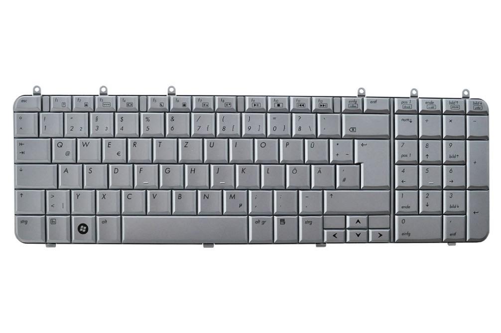 HP 71CI5232011 Tastatur, deutsch (GR) silber, original
