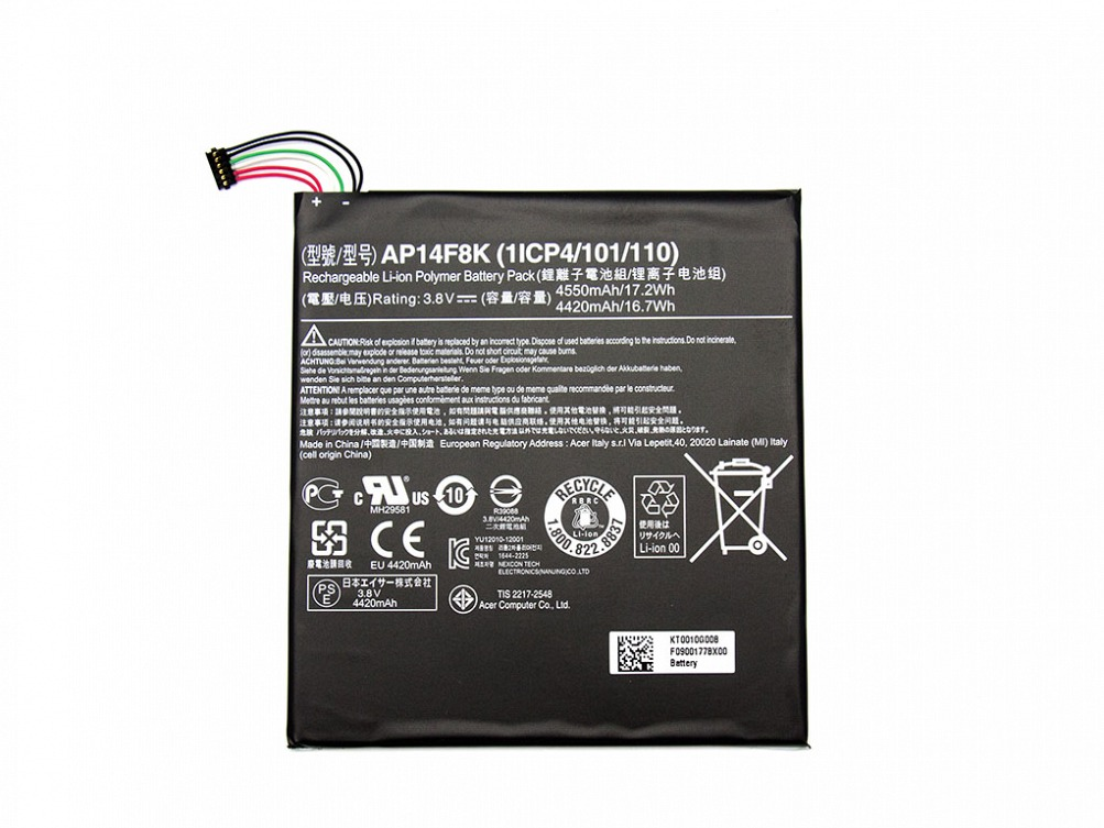 Akku Acer Predator 8 (GT-810) Serie