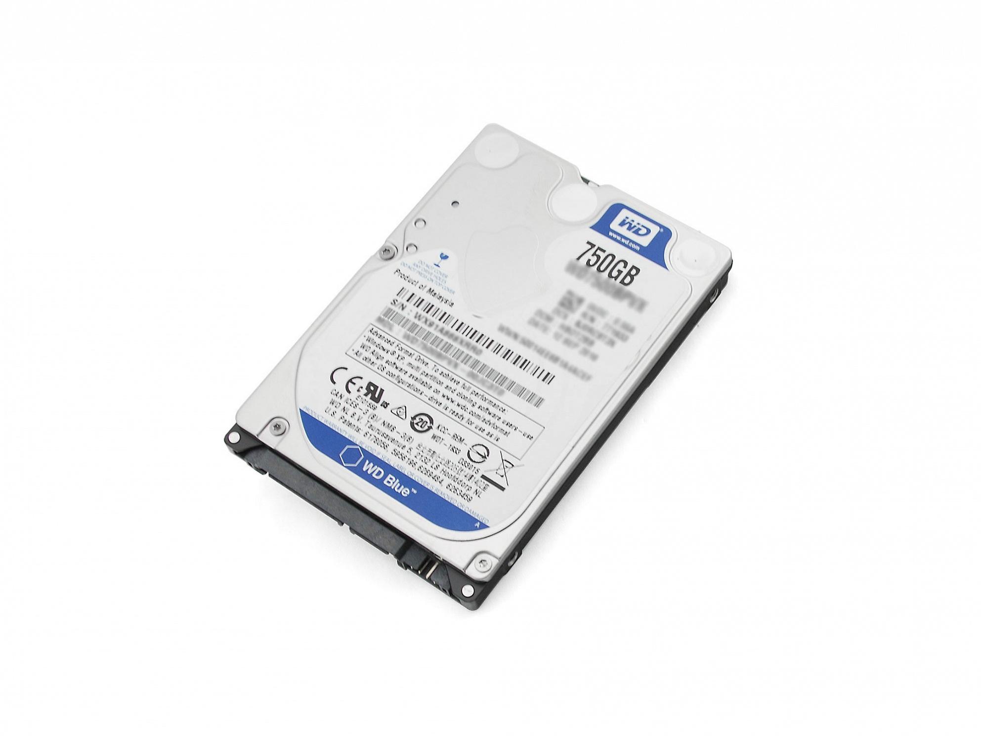 Festplatte 750 GB 6,4cm (2,5 Zoll) S-ATA WD für Fujitsu Amilo Li-3910 Reg.No. EF9