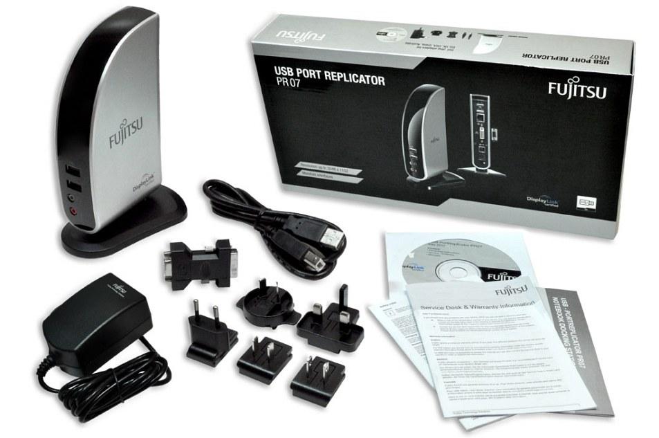 Fujitsu PR07 Universal Port Replikator Fujitsu USB 2.0