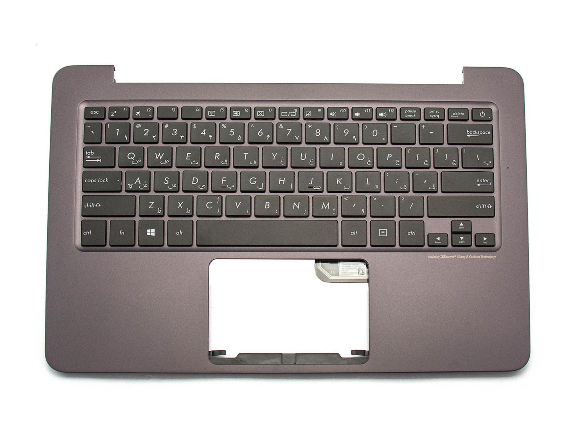 Asus NSK-WB20P Tastatur inkl. Topcase FS (persisch) schwarz/anthrazit Original