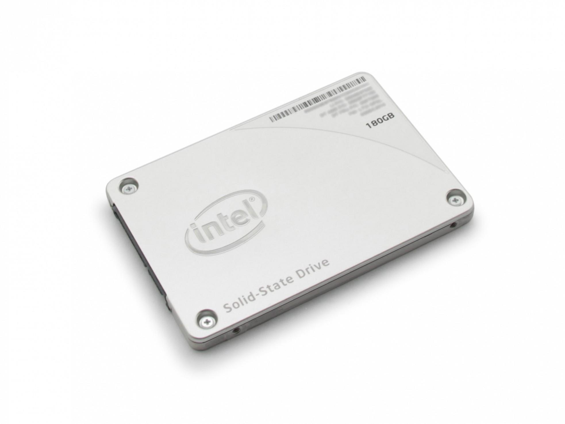 Festplatte SSD - 180GB Intel für Wortmann Terra Mobile 1509