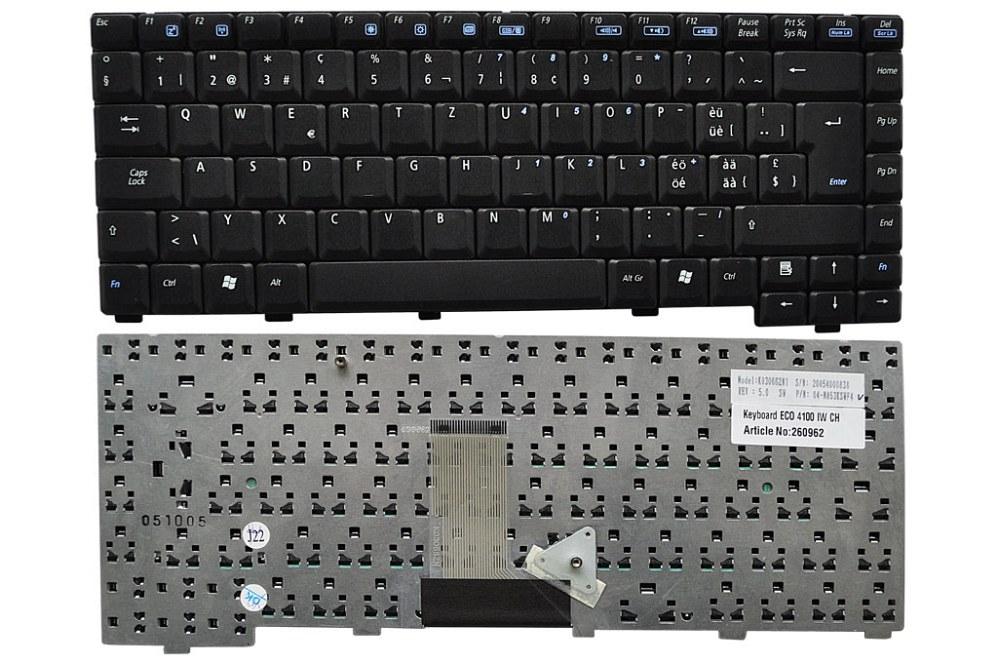 Tastatur, Schweiz (CH) für Asus Z92M