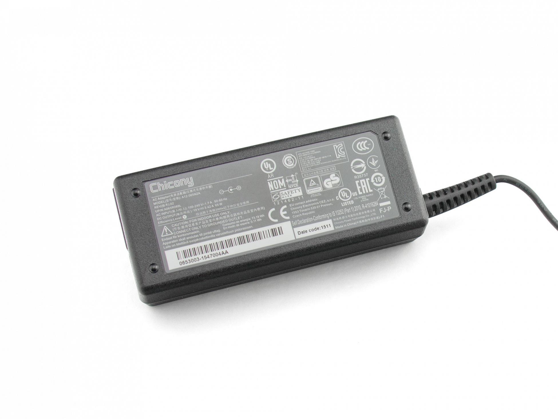 ENERTRONIX EXA0703YH Netzteil 65 Watt - Chicony