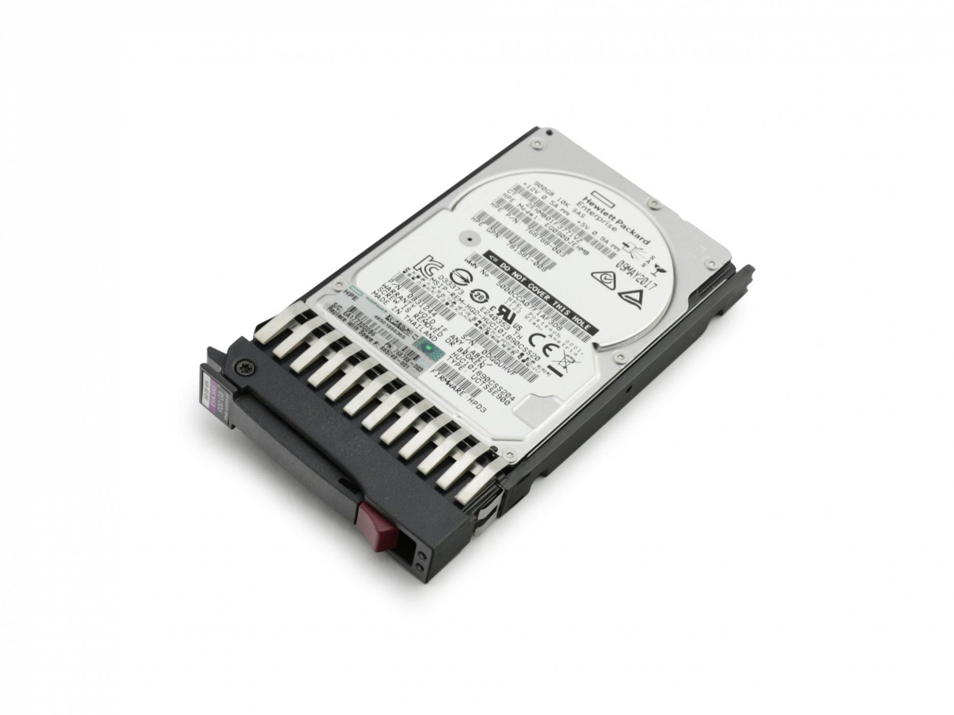HP EVA P6300 Enclosure Server Festplatte HDD 900GB (2,5 Zoll / 6,4 cm) SAS II (6 Gb/s) 10K inkl. Hot-Plug
