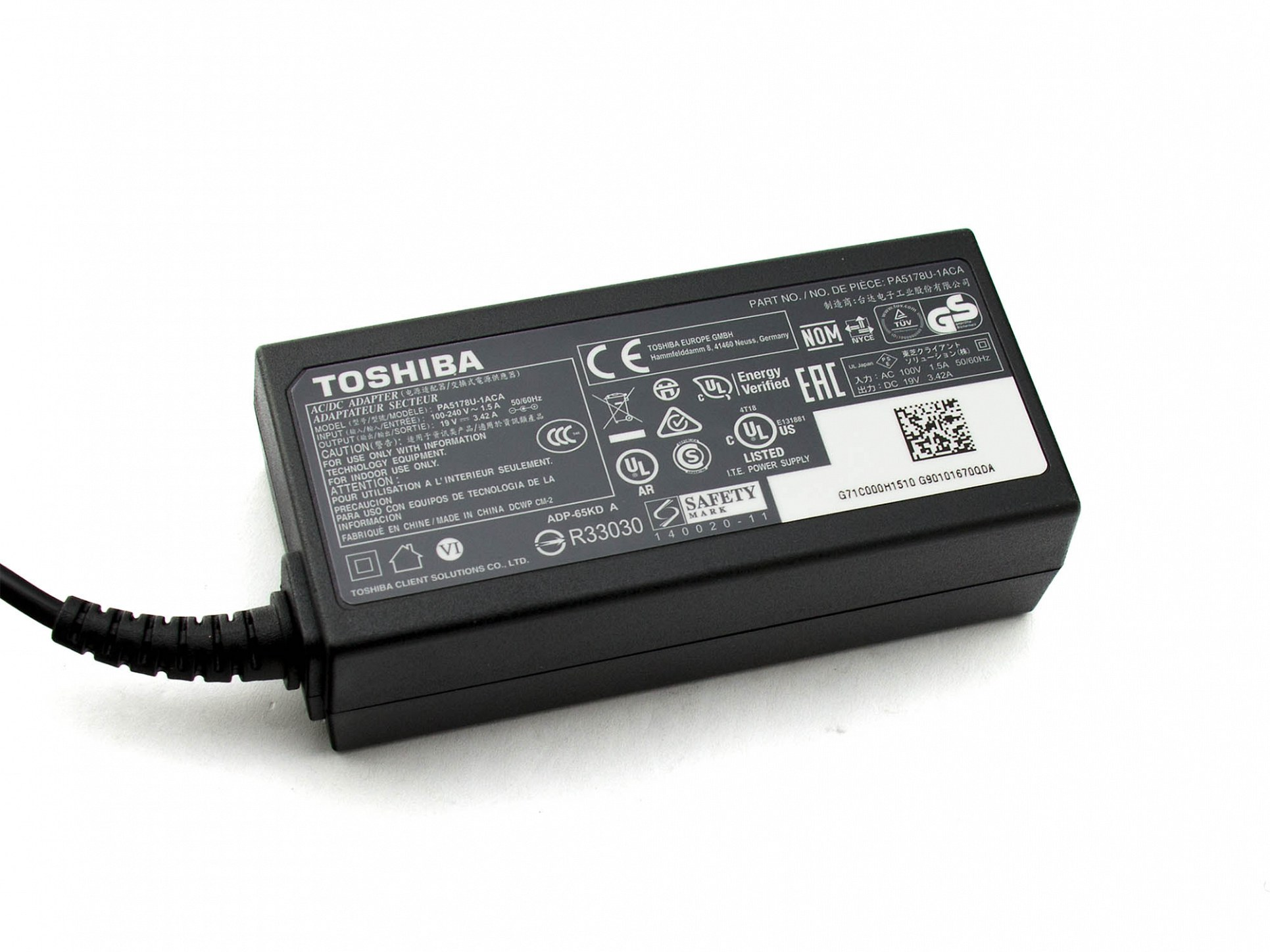 Netzteil Toshiba Satellite A500-19N
