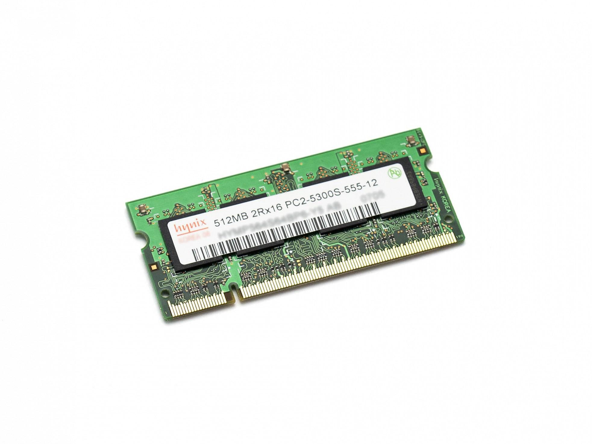 RAM-Speicher 512 MB DDR2 SO-DIMM 667 Mhz für Asus Z92M