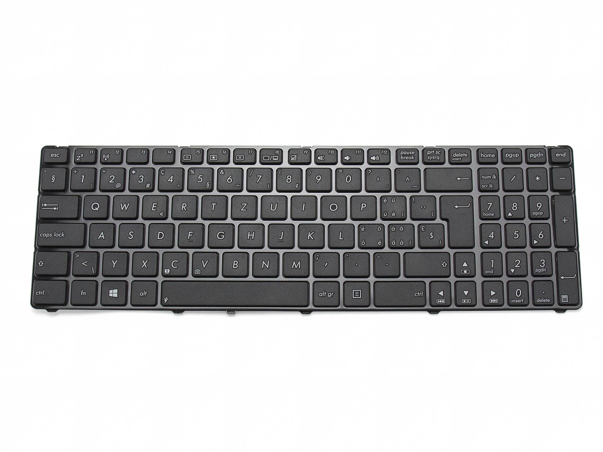 Tastatur, schweiz-französisch (SF) - schwarz - für Asus Pro7AJR-TY083V