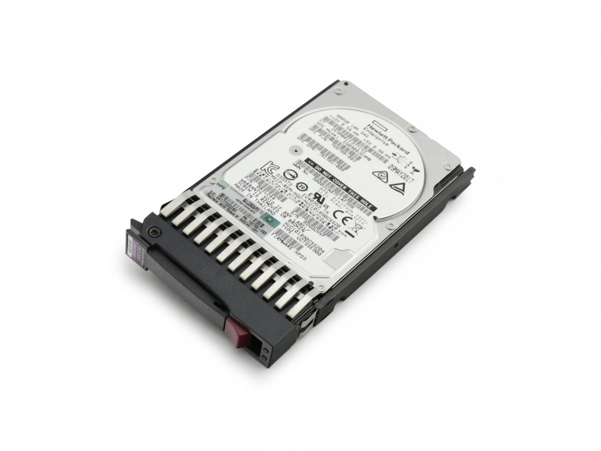 HP P6550 EVA Dual Controller FC Array Enclosure Server Festplatte HDD 900GB (2,5 Zoll / 6,4 cm) SAS II (6 Gb/s) 10K inkl. Hot-Plug