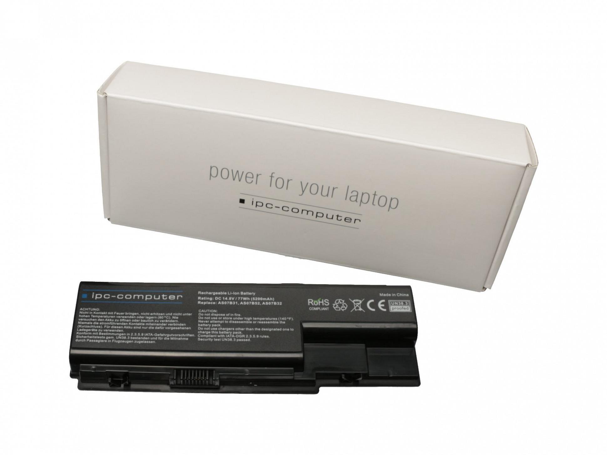 Akku Acer Extensa 7630G-582G25Mn