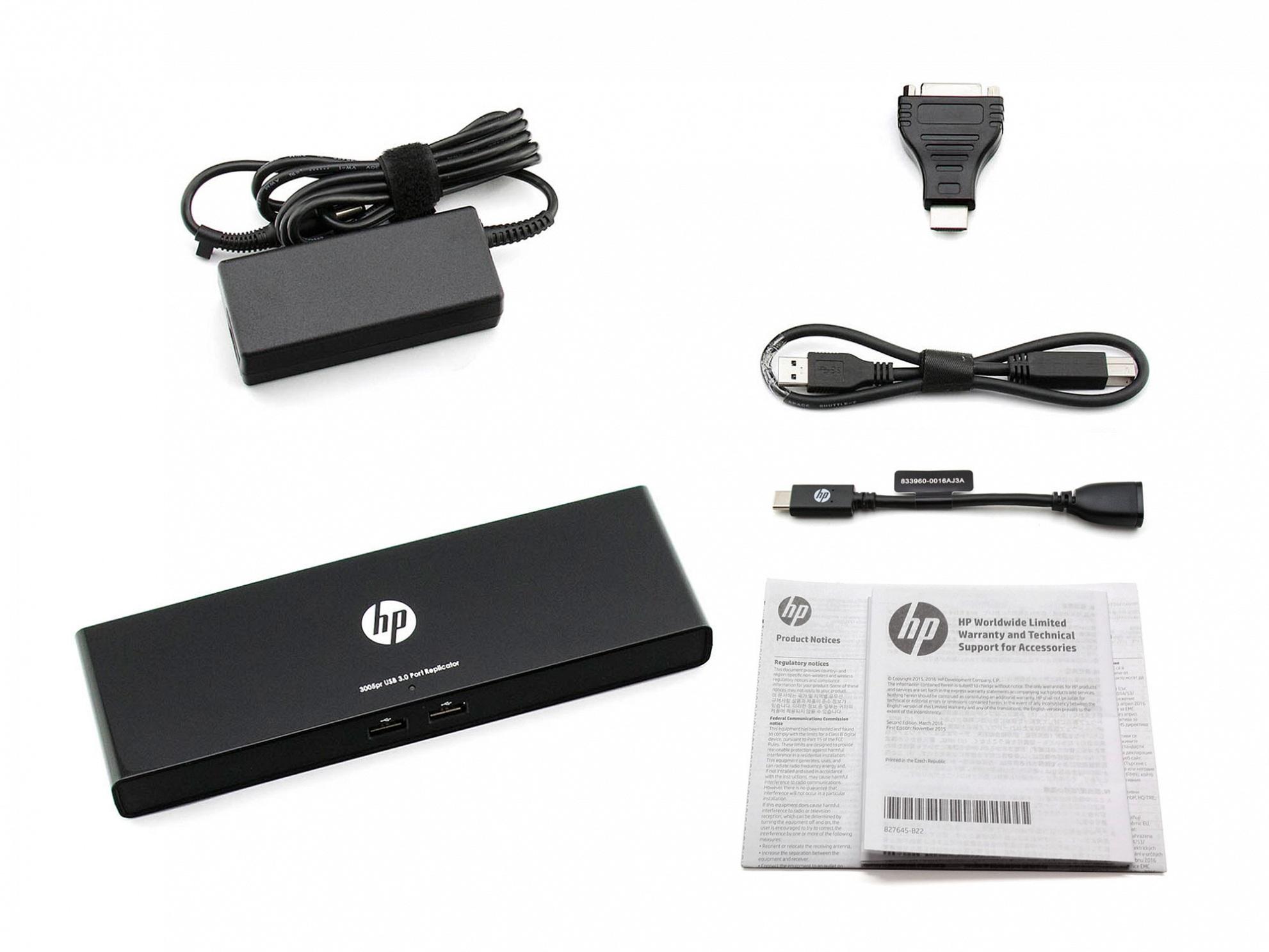 Universal Port Replikator HP 3005pr USB 3.0 für Fujitsu Amilo Li-3910 Reg.No. EF9