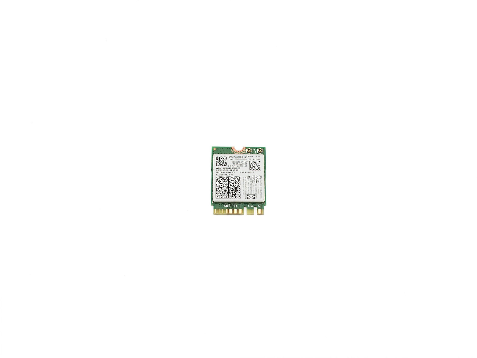 Intel Wireless-N 7260 MAIN für Lenovo ThinkPad L540 (20AU/20AV) Serie