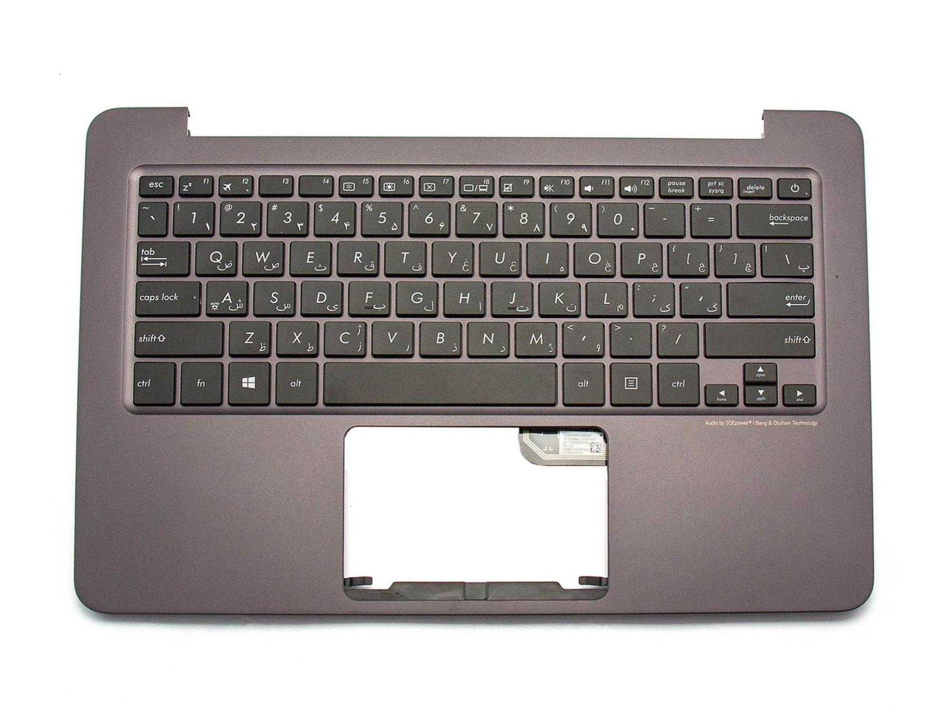 DFE 9Z.NBXPC.20P Tastatur inkl. Topcase FS (persisch) schwarz/anthrazit Original