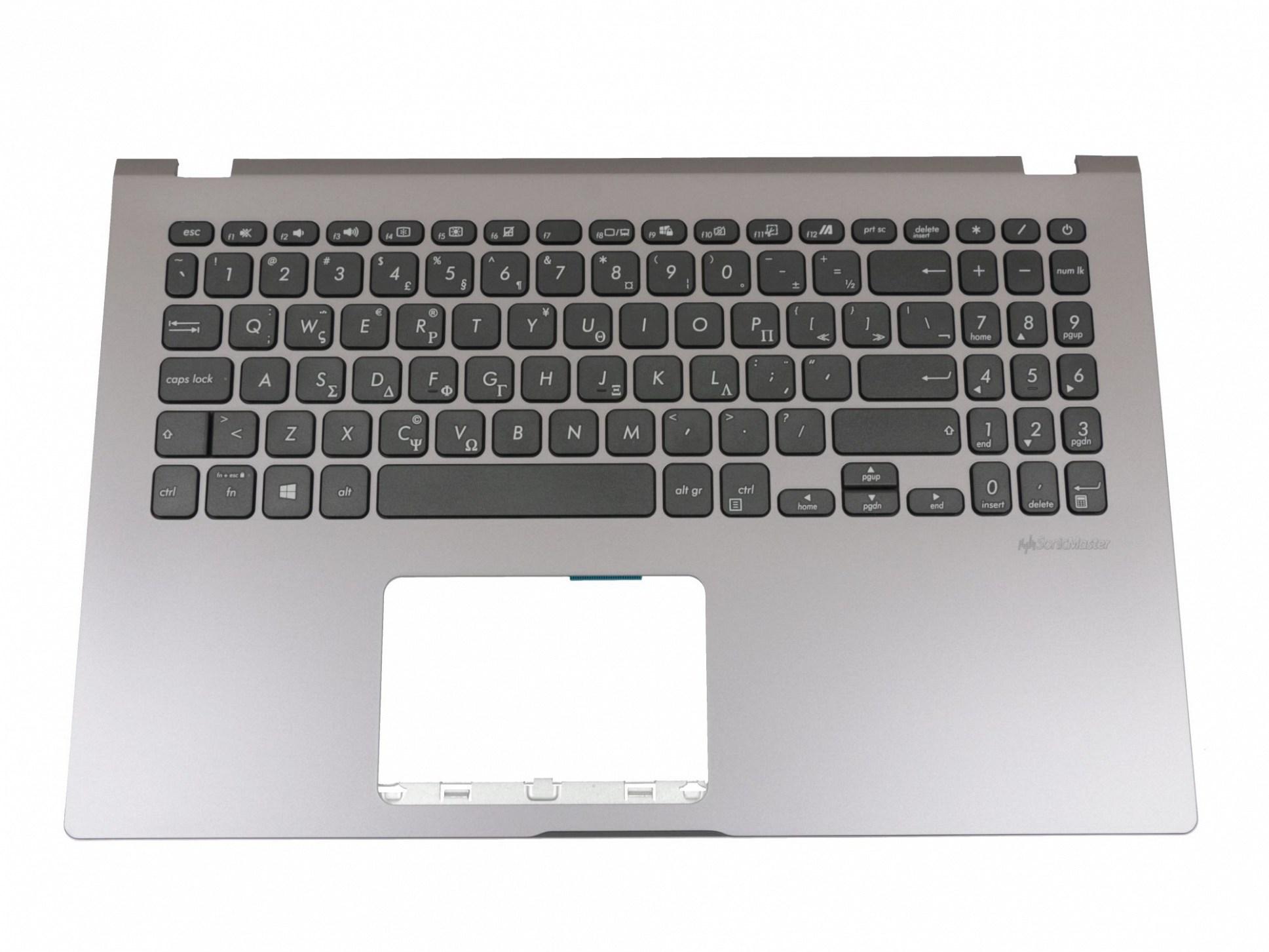 TAX50G Tastatur inkl. Topcase GR (griechisch) schwarz/grau Original