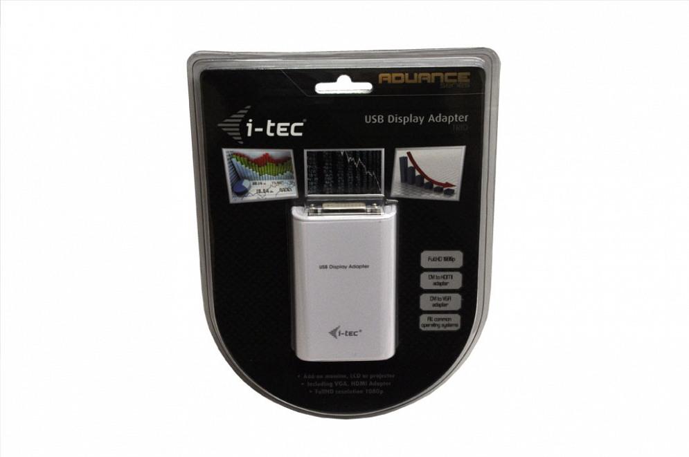 USB Display Adapter USB 2.0 - DVI/HDMI/VGA für Wortmann Terra Mobile 1509 Serie