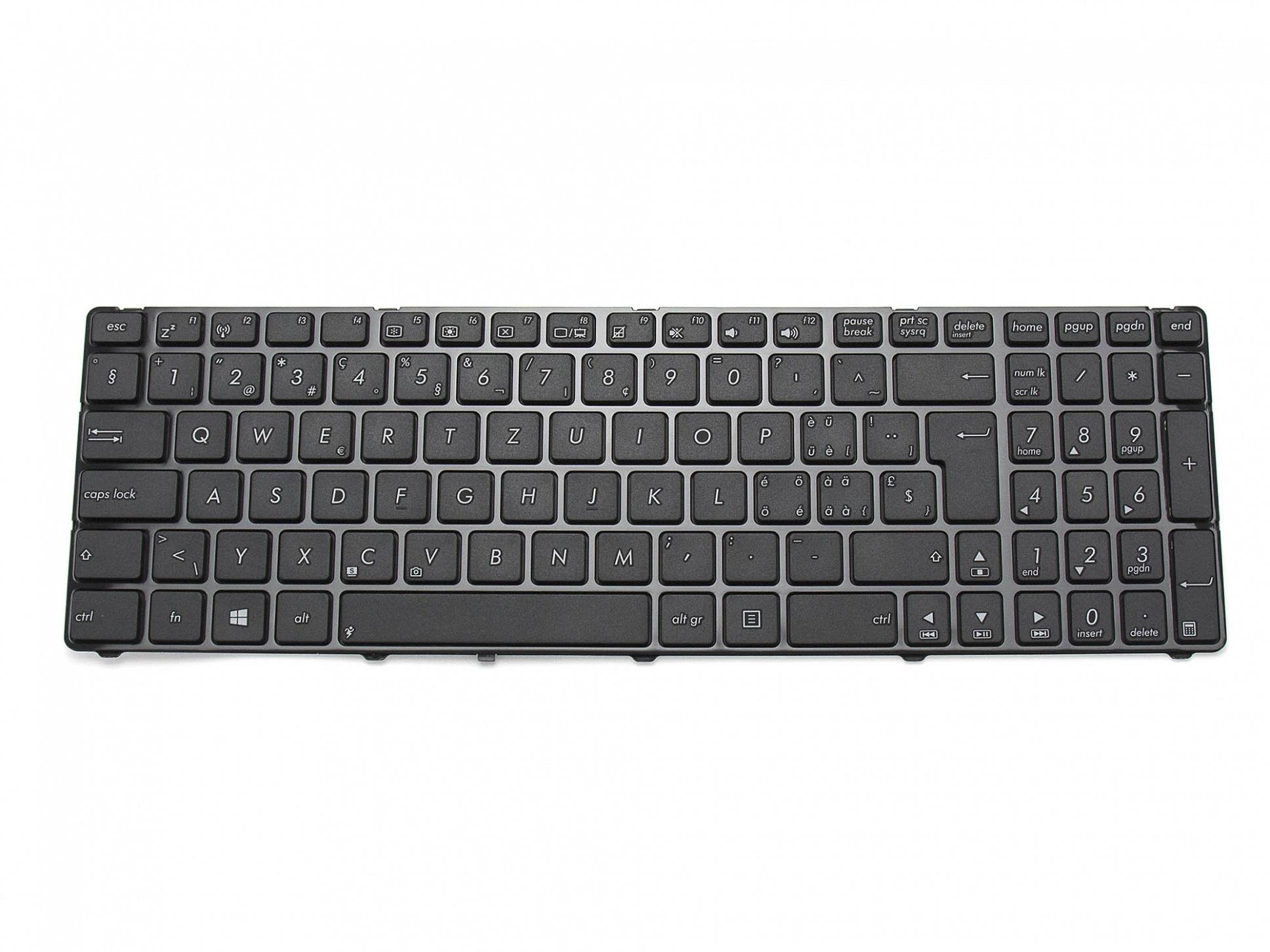Tastatur, schweiz-französisch (SF) - schwarz - für Asus Pro7AJK-TY047V