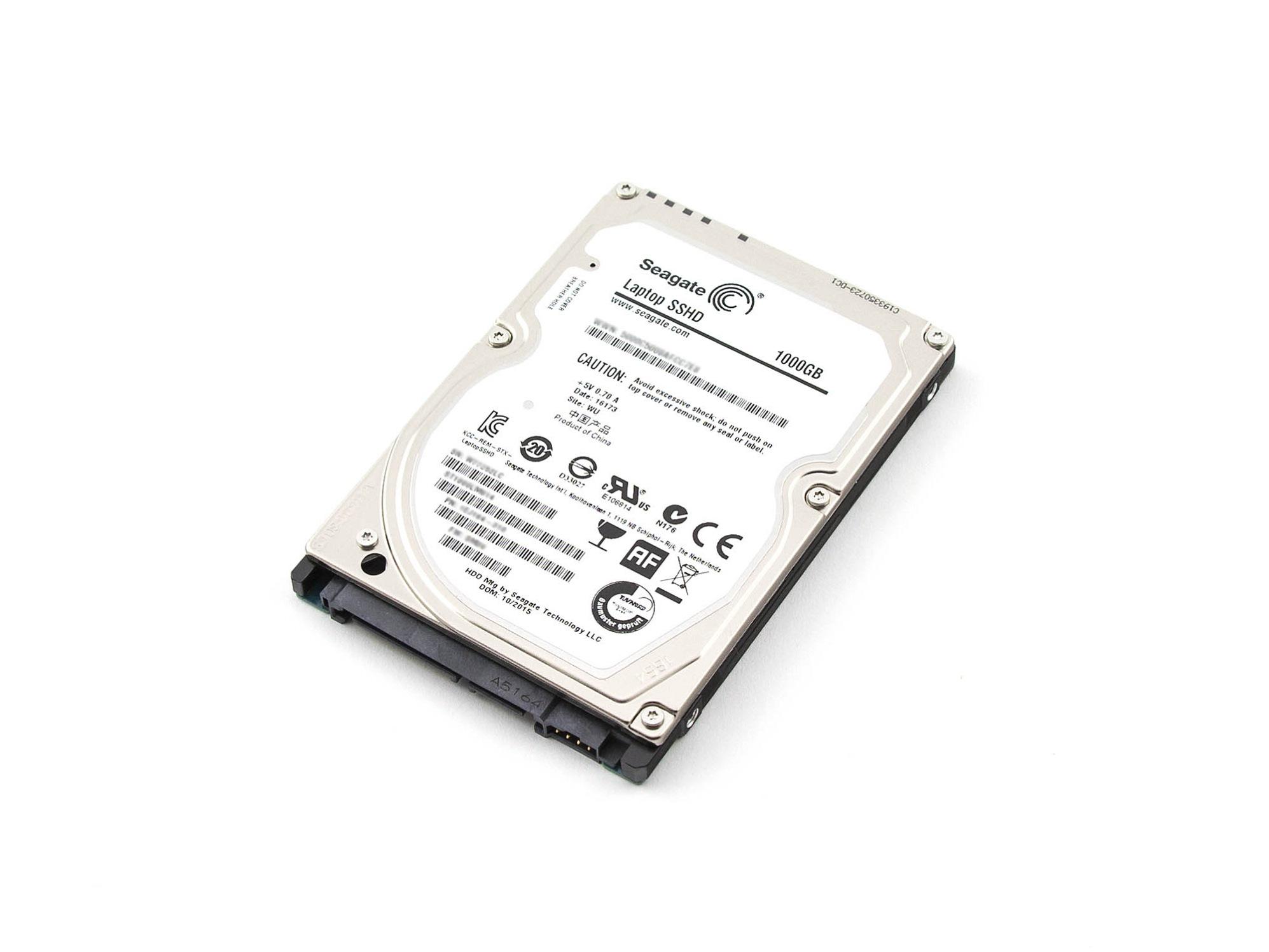 SSHD Hybrid-Festplatte - 1000GB für Wortmann Terra Mobile 1509 Serie