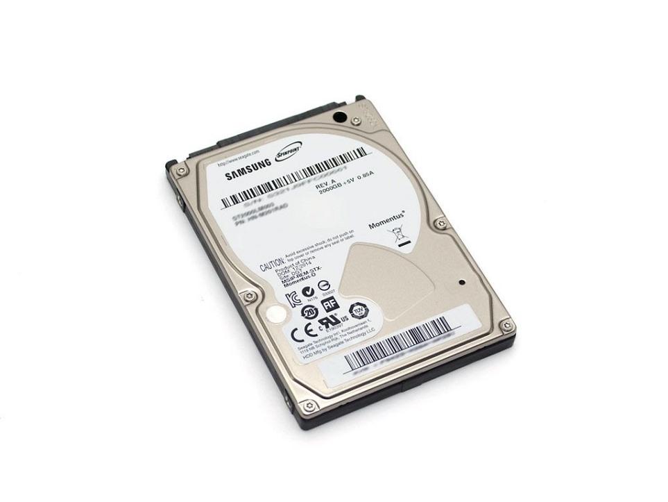 Festplatte 2TB 6,4cm (2,5 Zoll) SATA für Fujitsu Amilo Li-3910 Reg.No. EF9