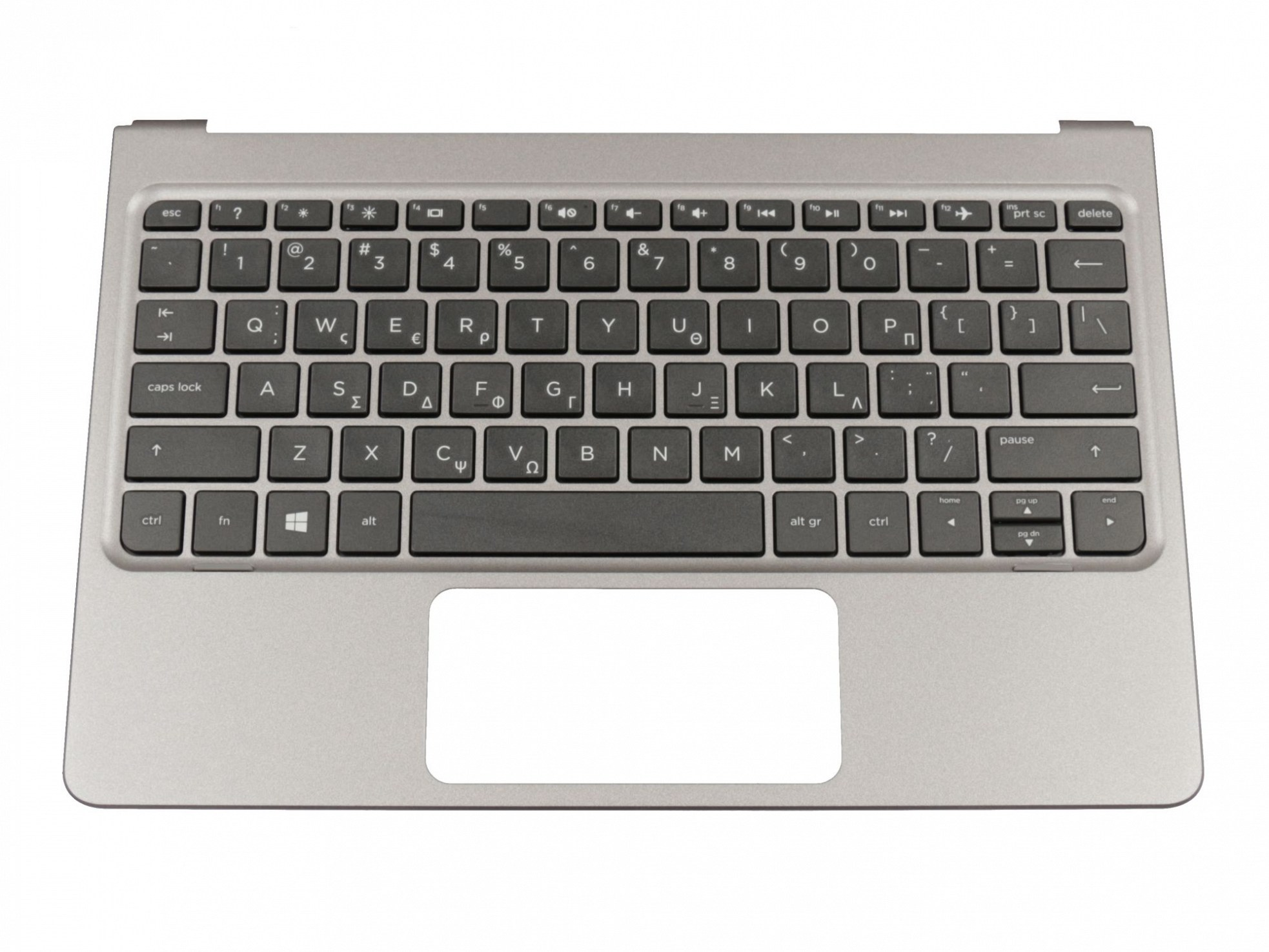 HP 813024-151 Tastatur inkl. Topcase GR (griechisch) schwarz/grau Original
