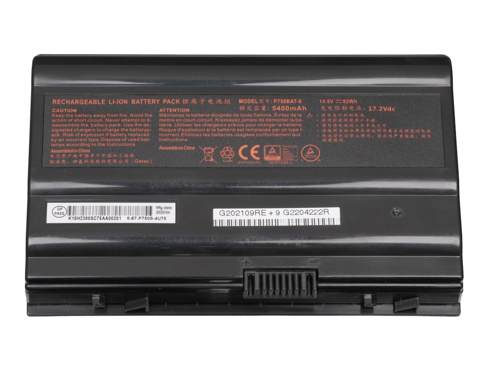 Akku Mifcom XG8 (P775DM) (ID: 2587)