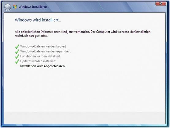 Windows Neuinstallation / Betriebssystem Reparatur für Wortmann Terra Mobile 1509 Serie