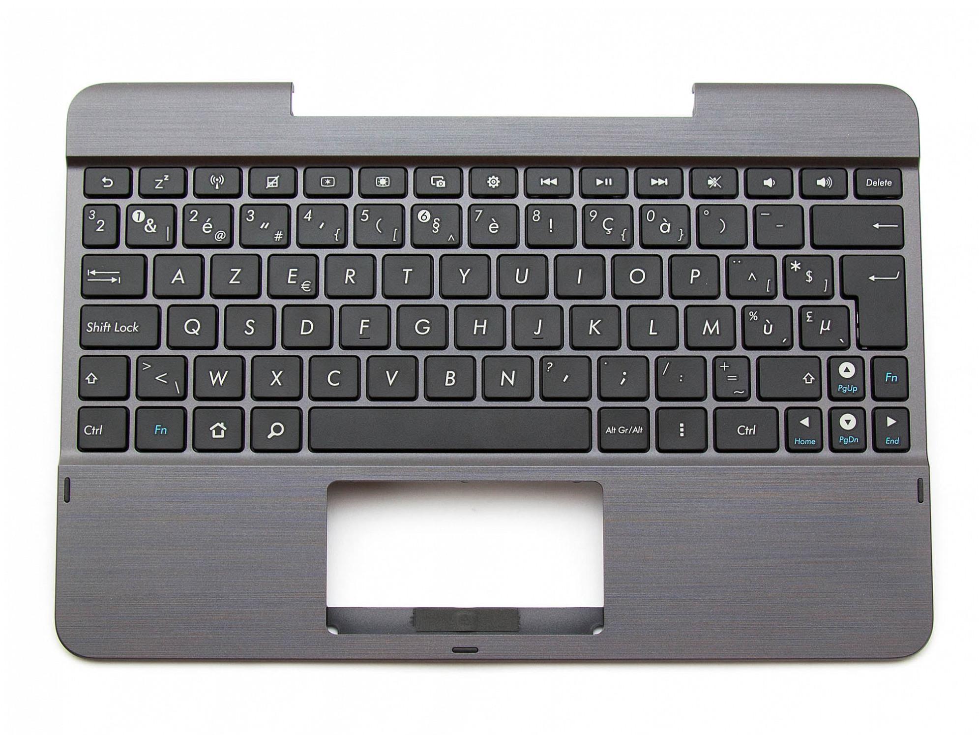 TF103C Tastatur inkl. Topcase BE (belgisch) schwarz/grau Original