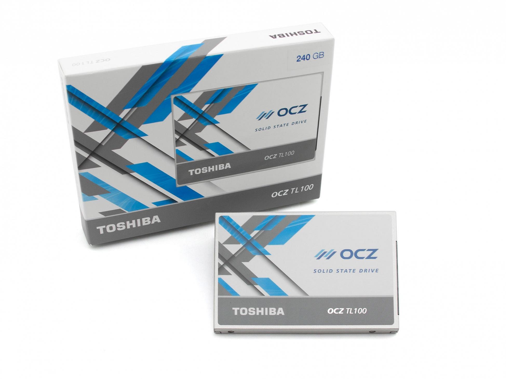 Festplatte SSD - 240GB OCZ TL100 für Wortmann Terra Mobile 1509