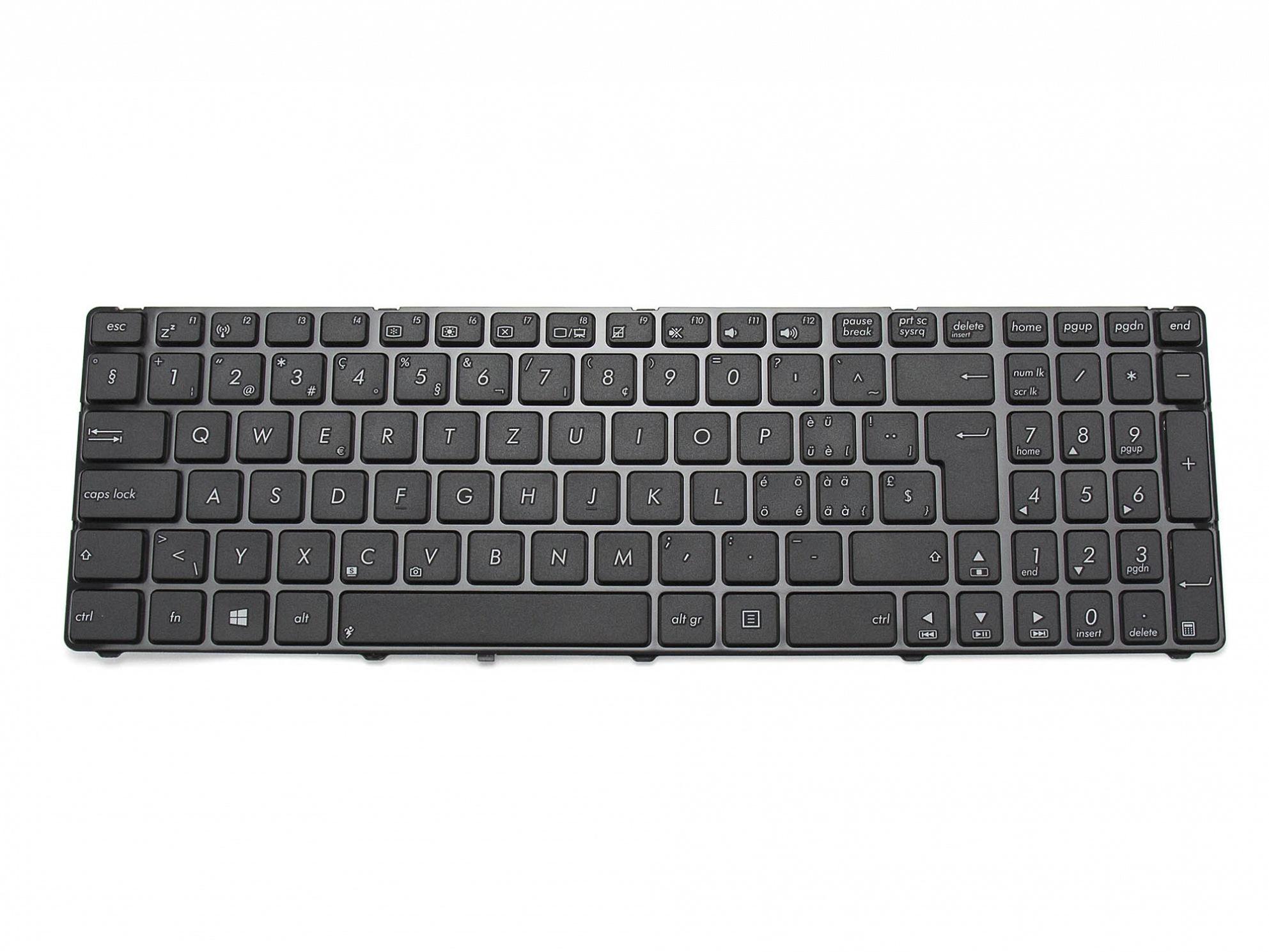 Tastatur, schweiz-französisch (SF) - schwarz - für Asus Pro7A Serie