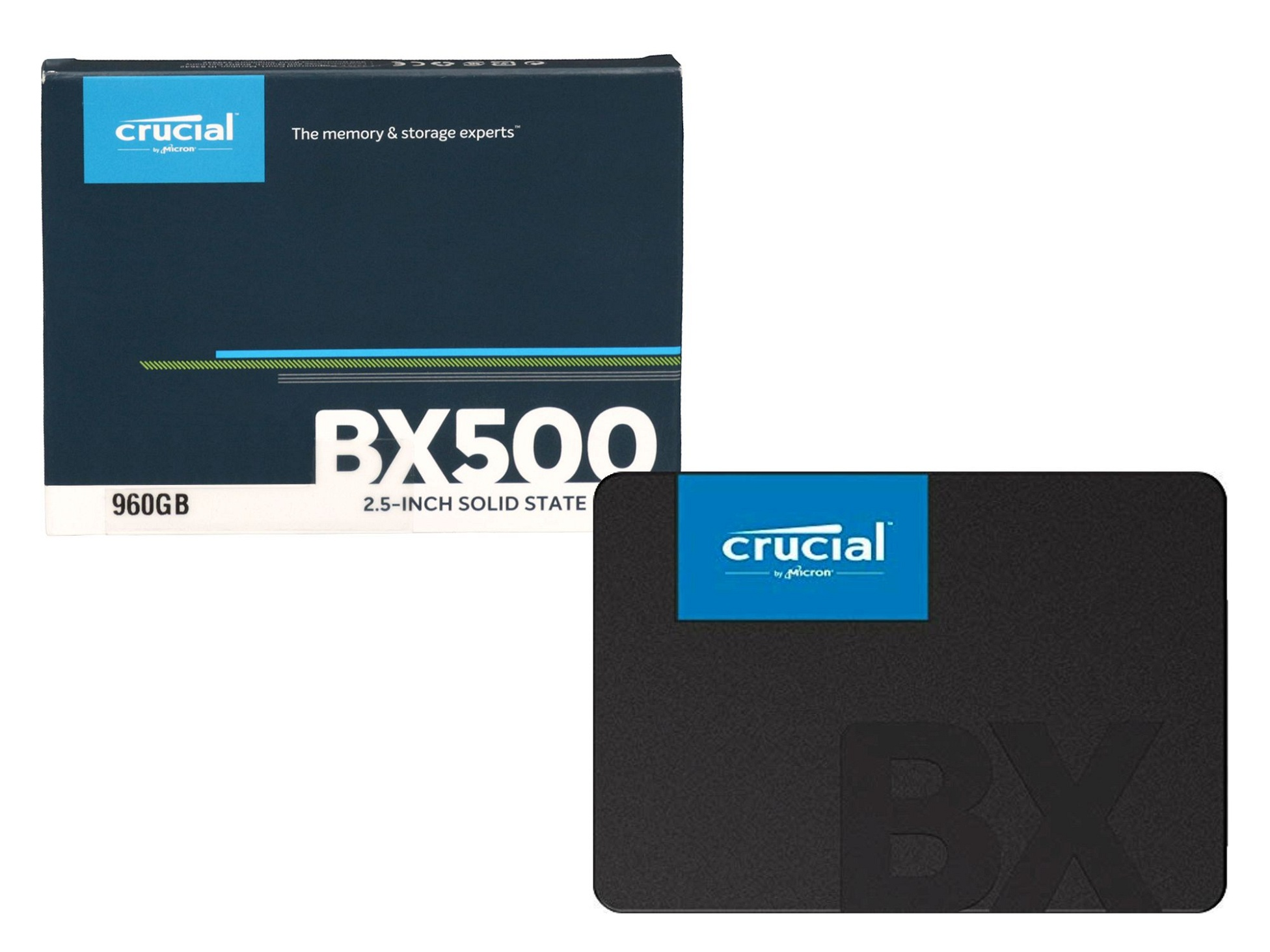 Festplatte SSD - 1050GB Crucial MX300 für Wortmann Terra Mobile 1509