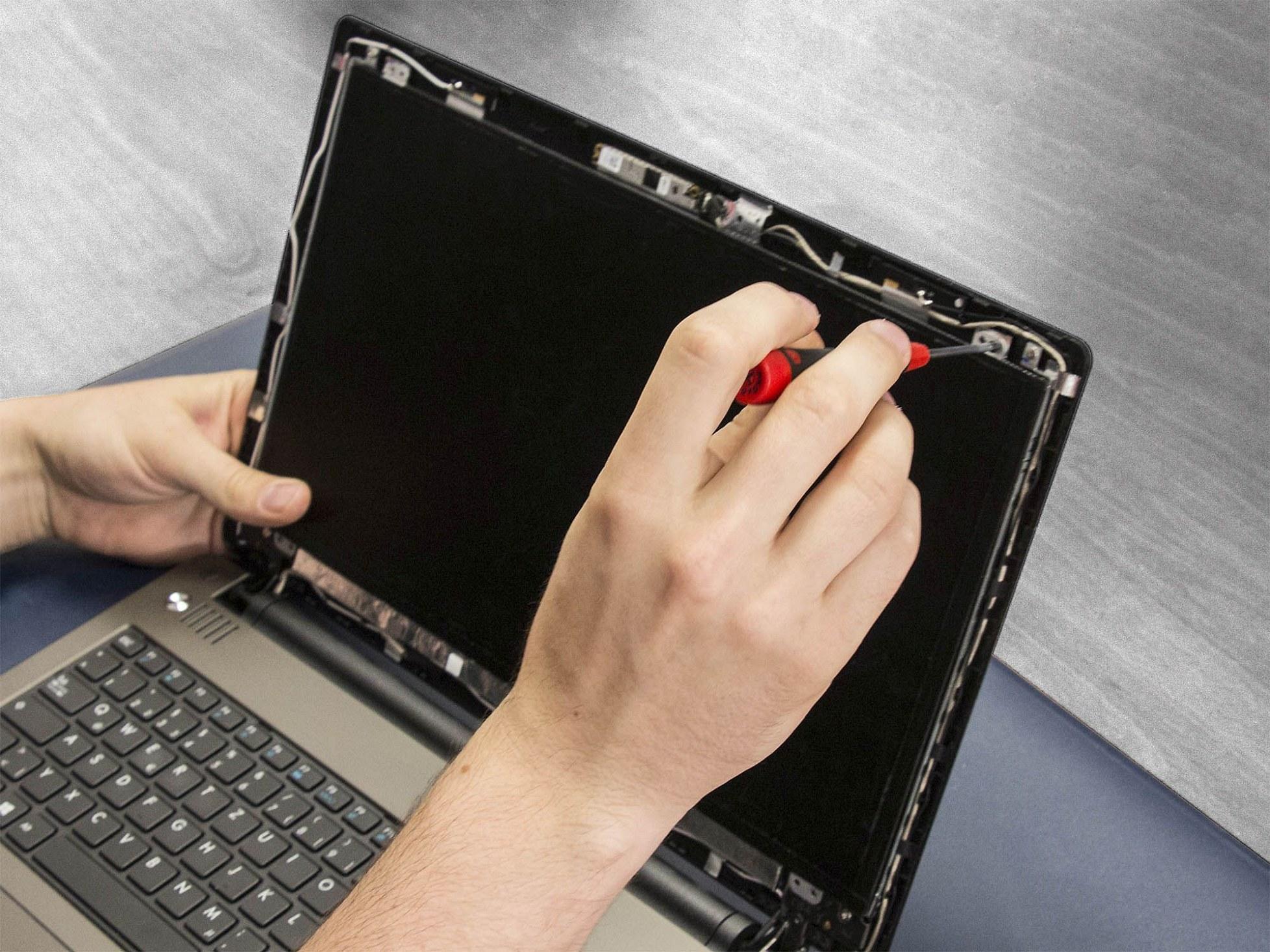 Packard Bell 7406230000 Display 15,4 WXGA matt CCFL gebraucht inkl. Einbau