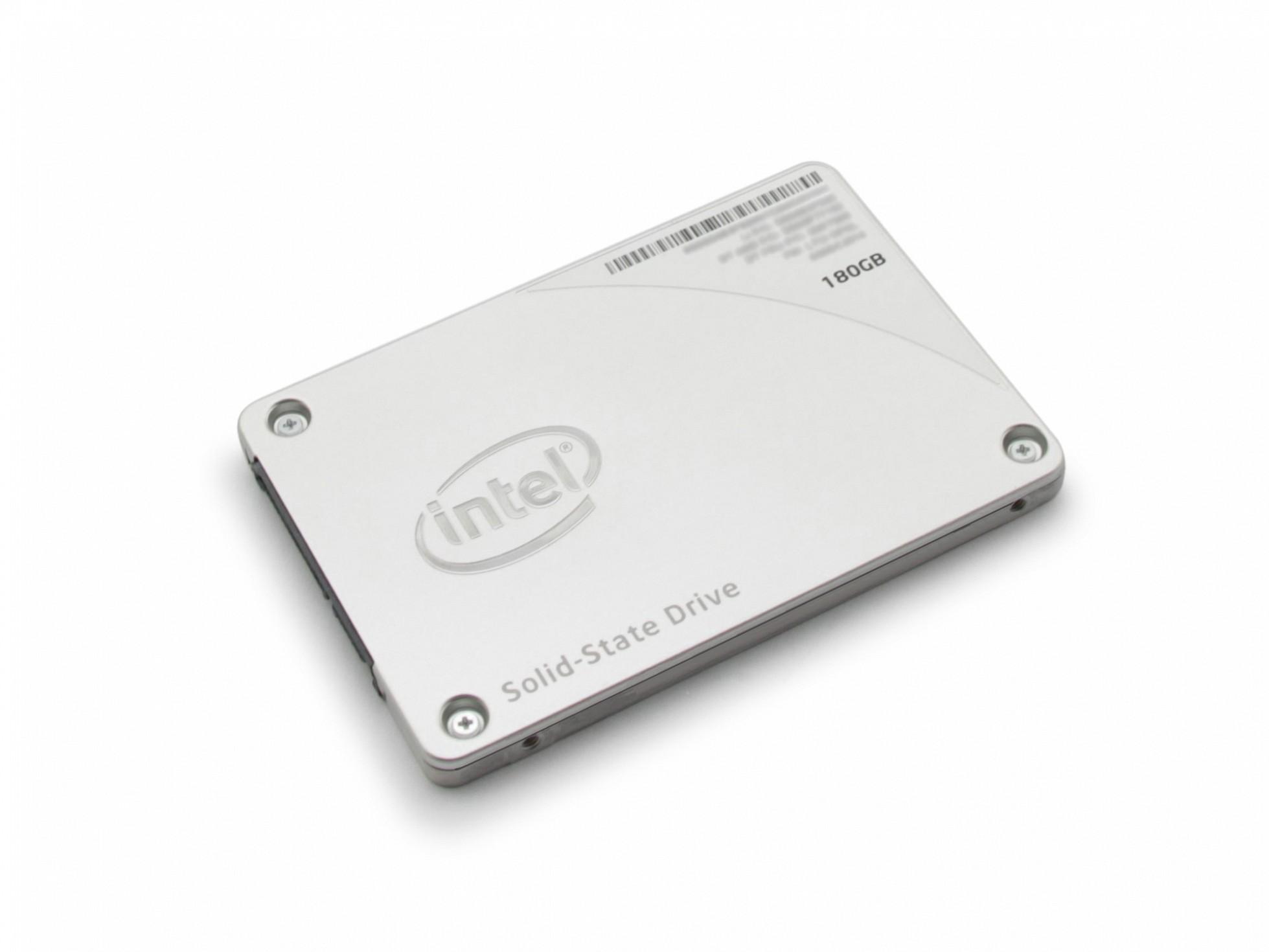 Festplatte SSD - 180GB Intel für Wortmann Terra Mobile 1509 Serie
