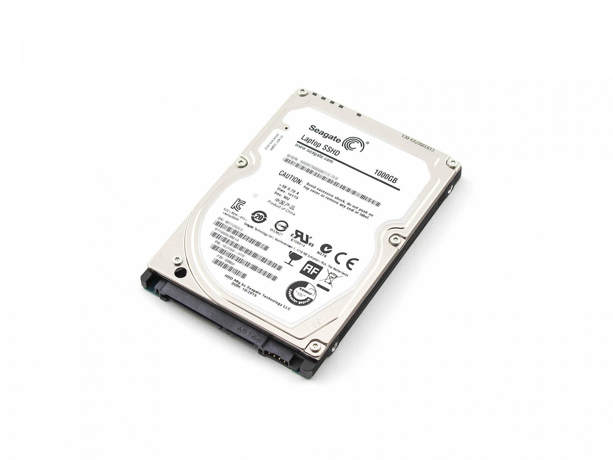 SSHD Hybrid-Festplatte - 1000GB für Wortmann Terra Mobile 1509