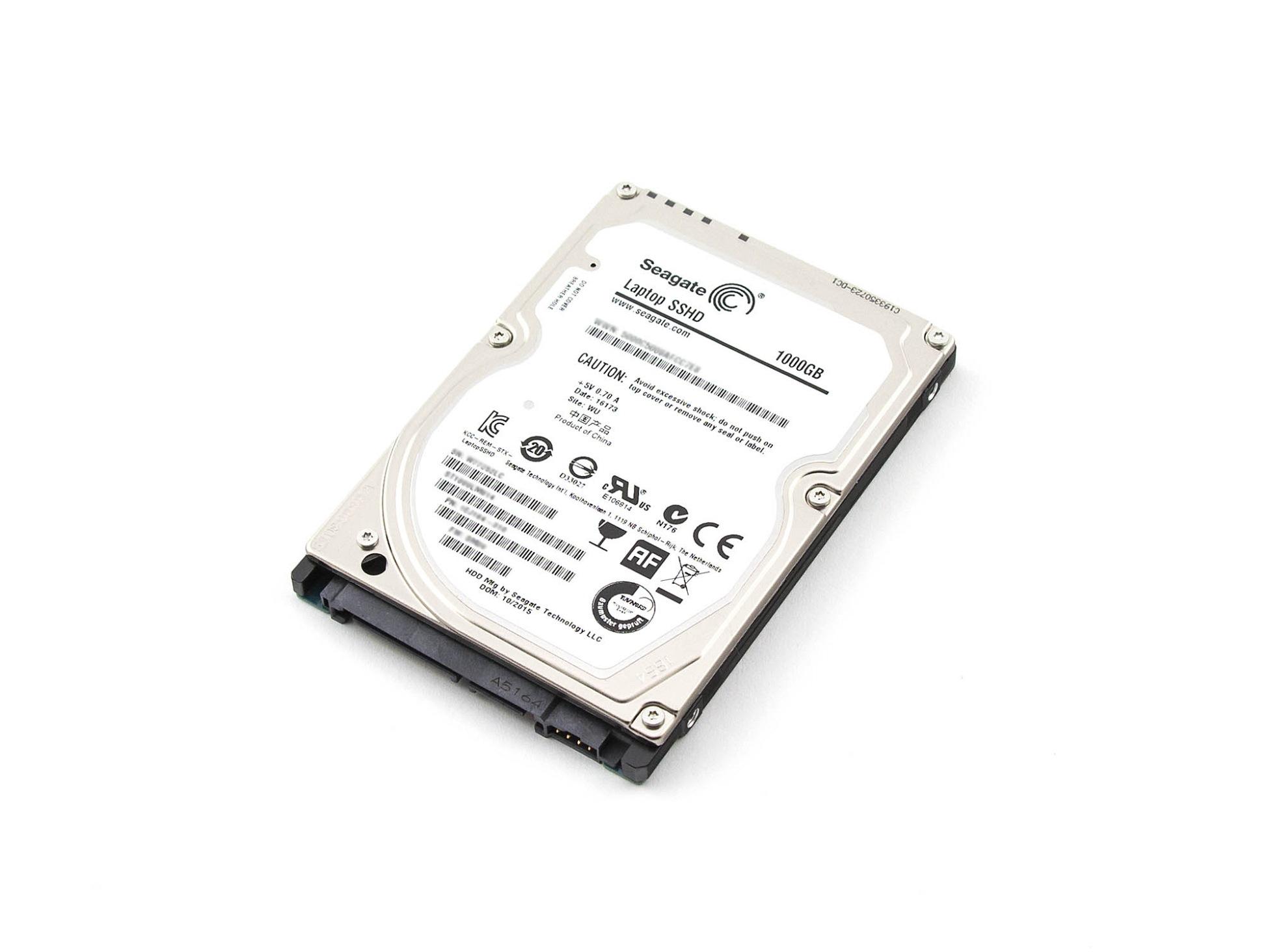 SSHD Hybrid-Festplatte - 1000GB für Wortmann Terra Mobile 1509 (1220111)